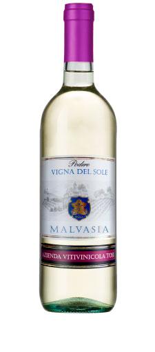 Vigna dels Sole Malvasia Provincia di Pavia IGT