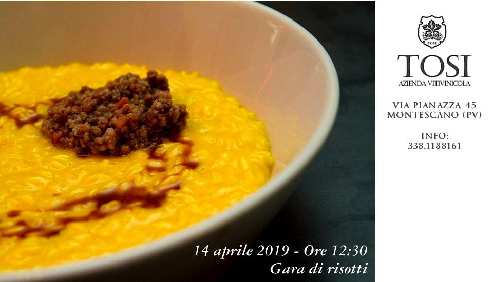 Gara di risotti in agriturismo (14/04/2019)