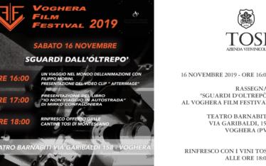 """Rassegna """"Sguardi d'Oltrepò"""" al Voghera Film Festival (16/11/2019)"""