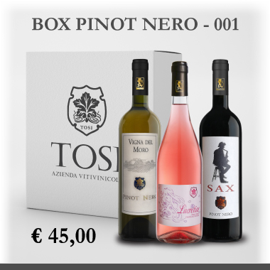 Box degustazione Pinot Nero - Tosi Vini