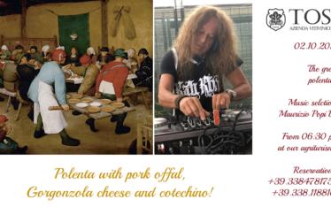The great polentata with Maurizio Popi dj (Saturday, October 2nd 2021)